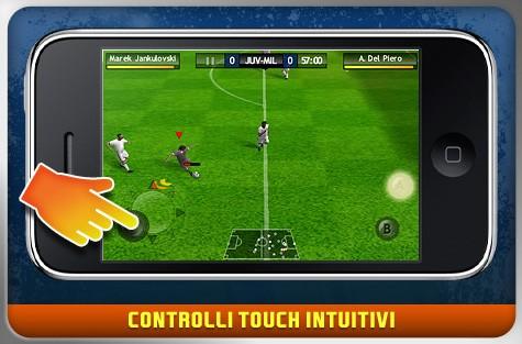 FIFA 10 - iPhone Screenshot
