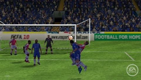FIFA 10 - Screenshot PSP