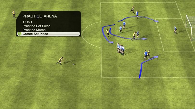 FIFA 10 - Xavi sul campo e in allenamento