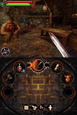 Fighting Fantasy: The Warlock of Firetop Mountain - Ingame
