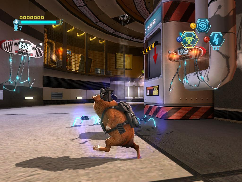 G-Force - In Game