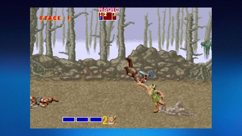 Golden Axe - Screenshot