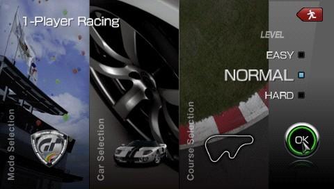 Gran Turismo PSP - In gioco