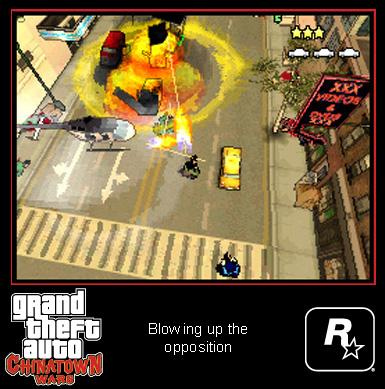 Grand Theft Auto: Chinatown Wars - Ingame