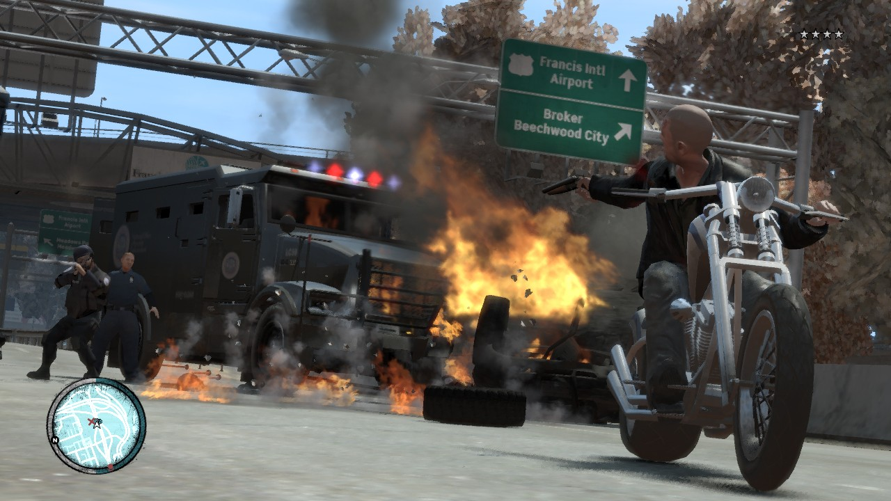 Grand Theft Auto IV: The Lost and Damned - Centauri