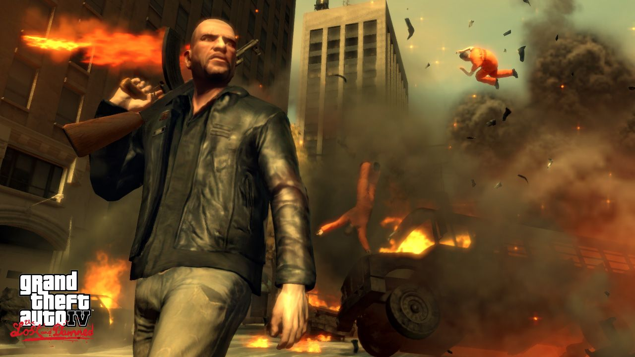 Grand Theft Auto IV: The Lost and Damned - Gameplay