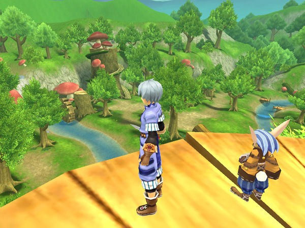 Grandia Online - Screen