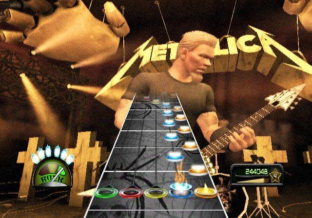 Guitar Hero: Metallica - Screen Wii