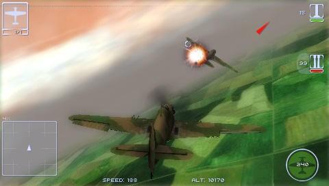 Il 2 Sturmovik Birds Of Prey - Screenshot DS e PSP