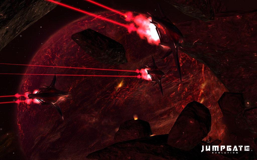 Jumpgate Evolution - Screen