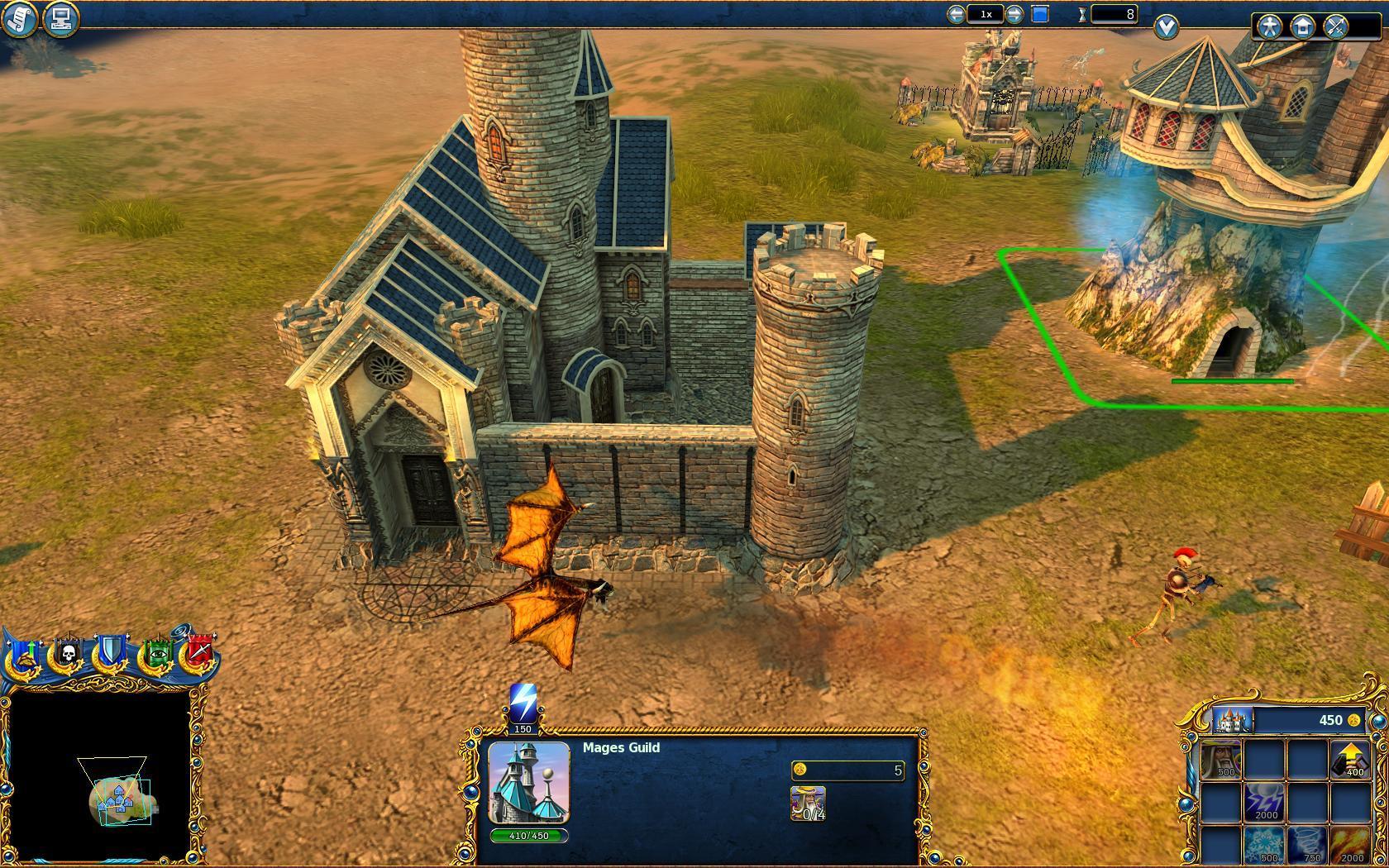 Majesty 2: The Fantasy Kingdom Sim - Ingame