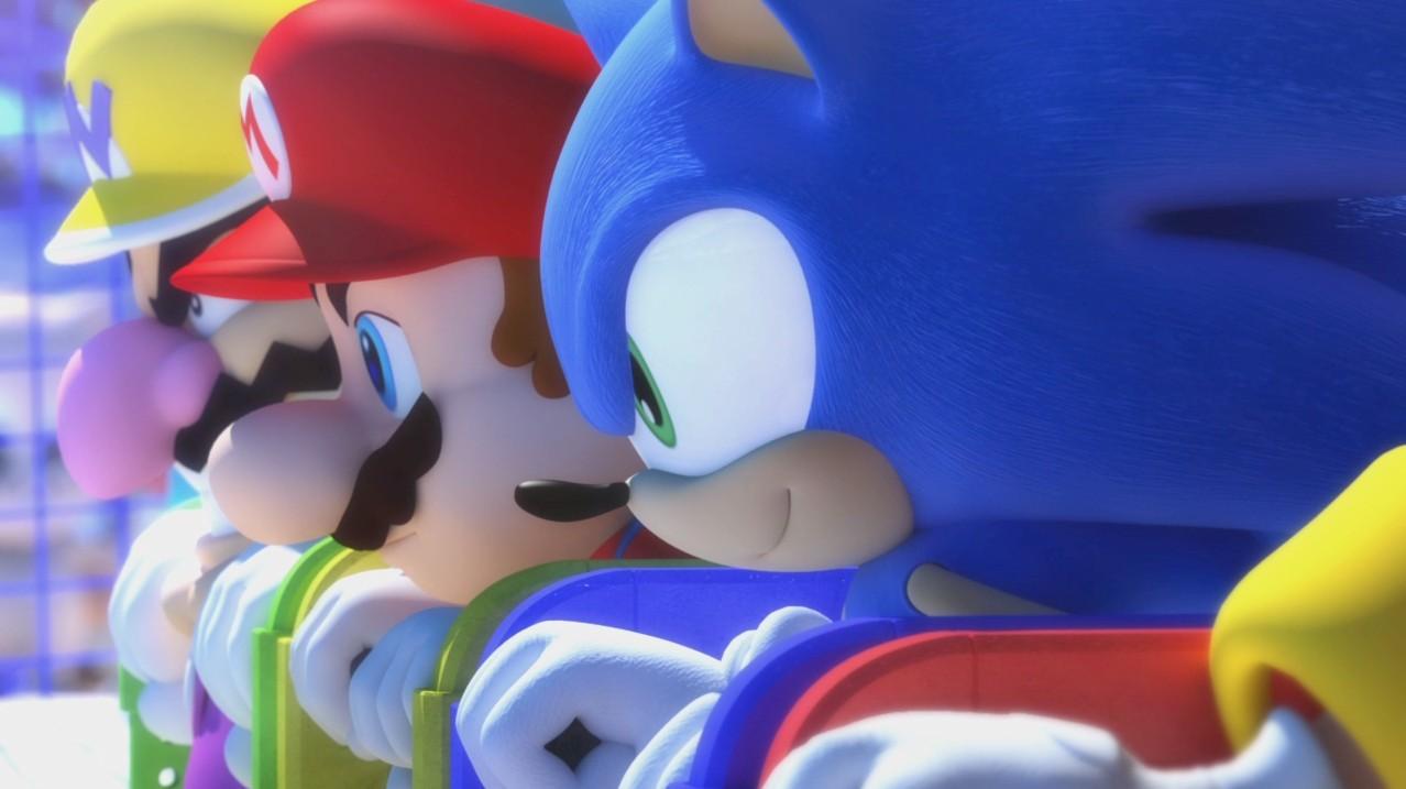 Mario & Sonic ai Giochi Olimpici Invernali - Prime immagini