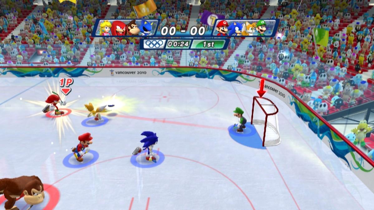Mario & Sonic ai Giochi Olimpici Invernali - Screen