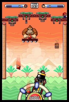 Mario vs. Donkey Kong: Minis Match Again - Screen