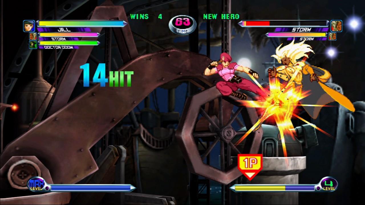 Marvel vs. Capcom 2 - Jill contro Tempesta