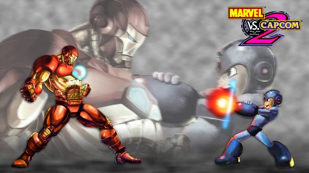 Marvel vs. Capcom 2 - Megaman vs. Ironman