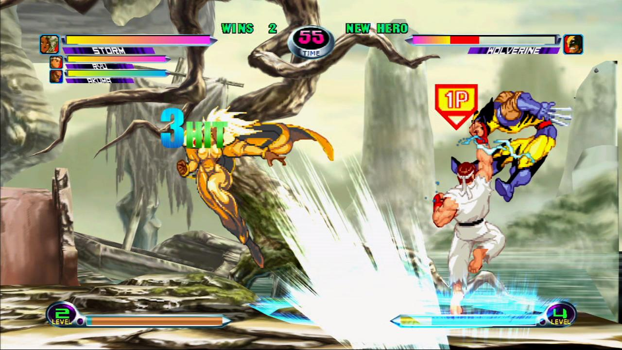Marvel vs. Capcom 2 - primi Screen