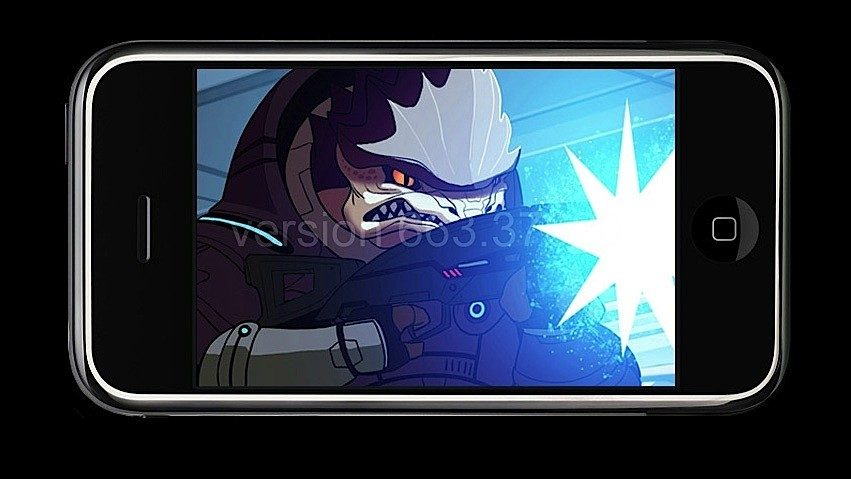 Mass Effect: Galaxy - Primi Screen