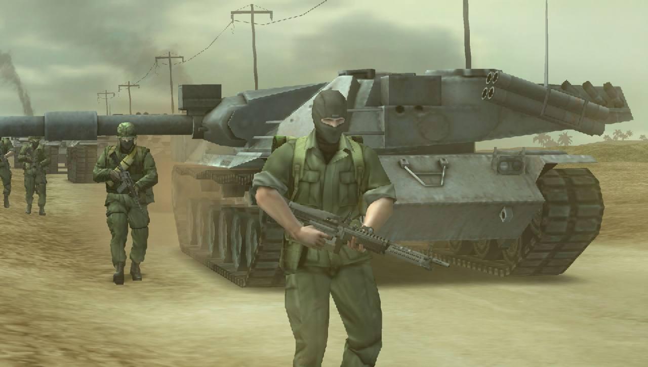 Metal Gear Solid: Peace Walker - Azione e personaggi