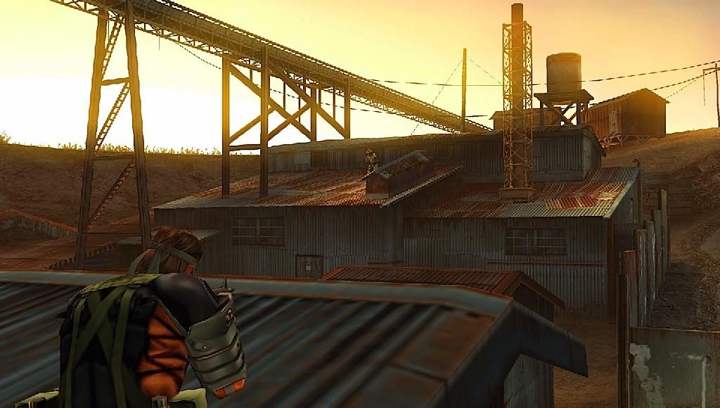 Metal Gear Solid: Peace Walker - Snake in azione