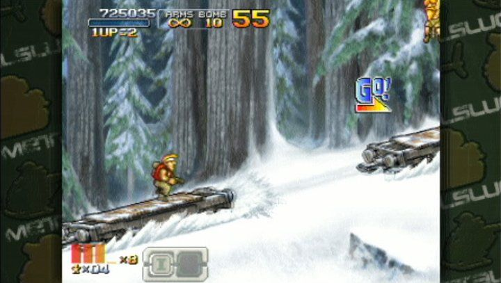 Metal Slug XX - Screenshot