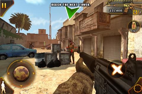 Modern Combat: Sandstorm - Screenshot