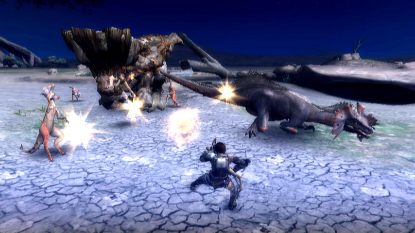 Monster Hunter 3 - TGS 09 Screenshot