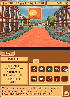 Monster Rancher DS - Ingame
