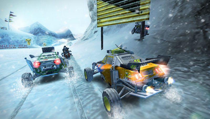 MotorStorm: Arctic Edge - Screen