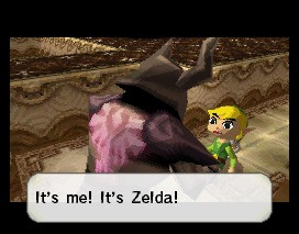 The Legend of Zelda: Spirit Tracks - In-Game e dialoghi