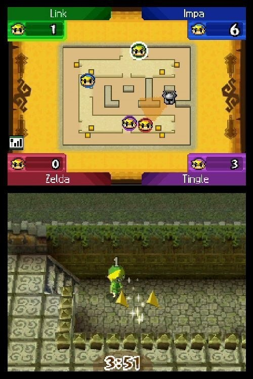 The Legend of Zelda: Spirit Tracks - Multiplayer