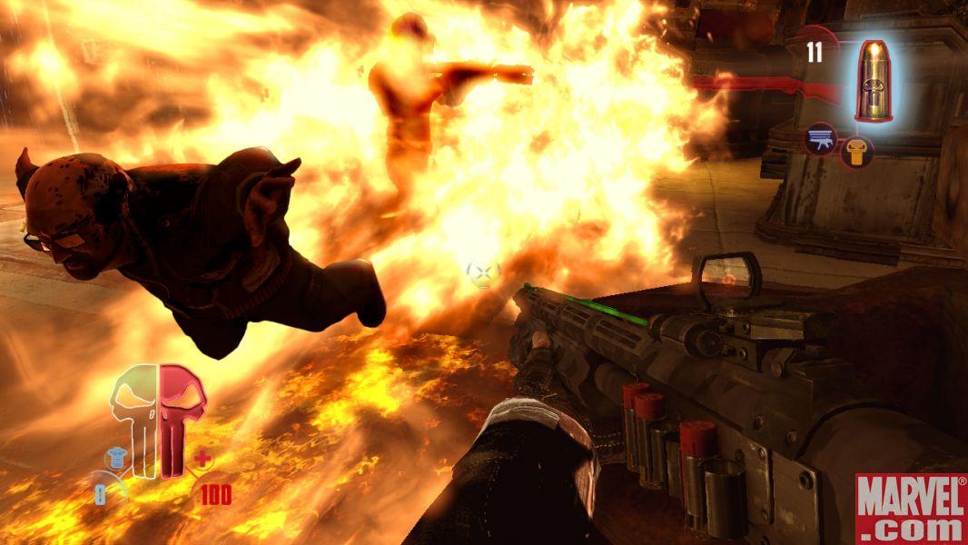 The Punisher: No Mercy - Screenshots