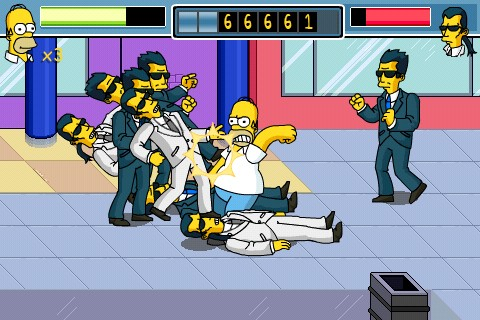 The Simpsons Arcade - Homer versione iPhone