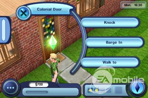 The Sims 3 - iPhone ingame