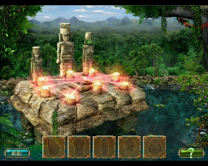 The Treasures of Montezuma 2 - Fasi di gioco