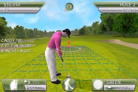 Tiger Woods PGA Tour - iPhone Screenshot