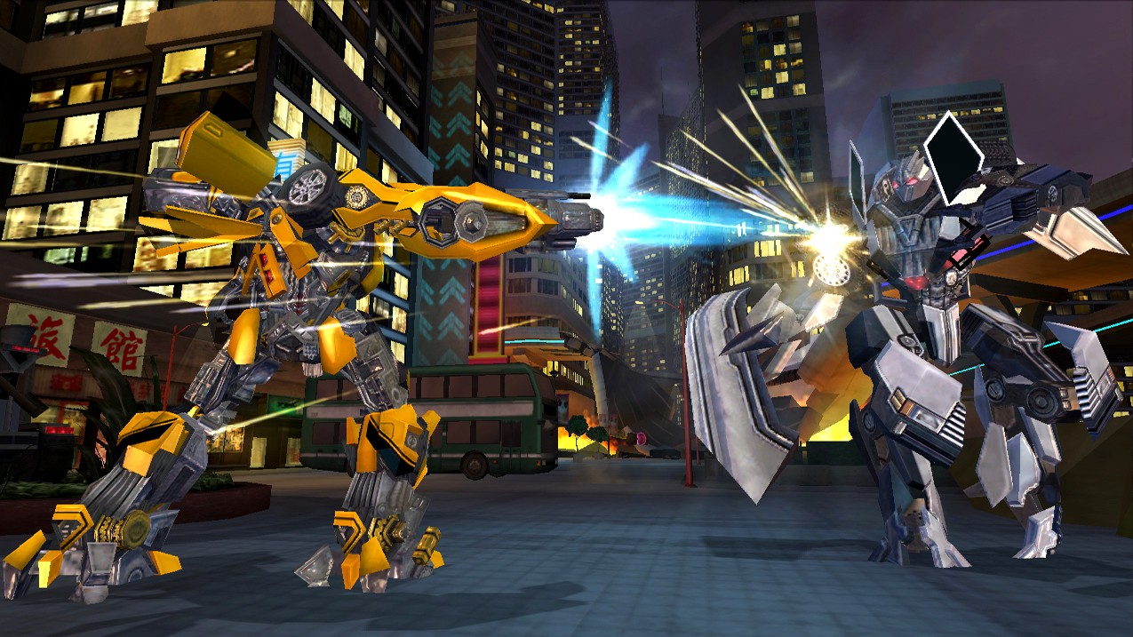 Transformers: La Vendetta del Caduto - Wii Screen