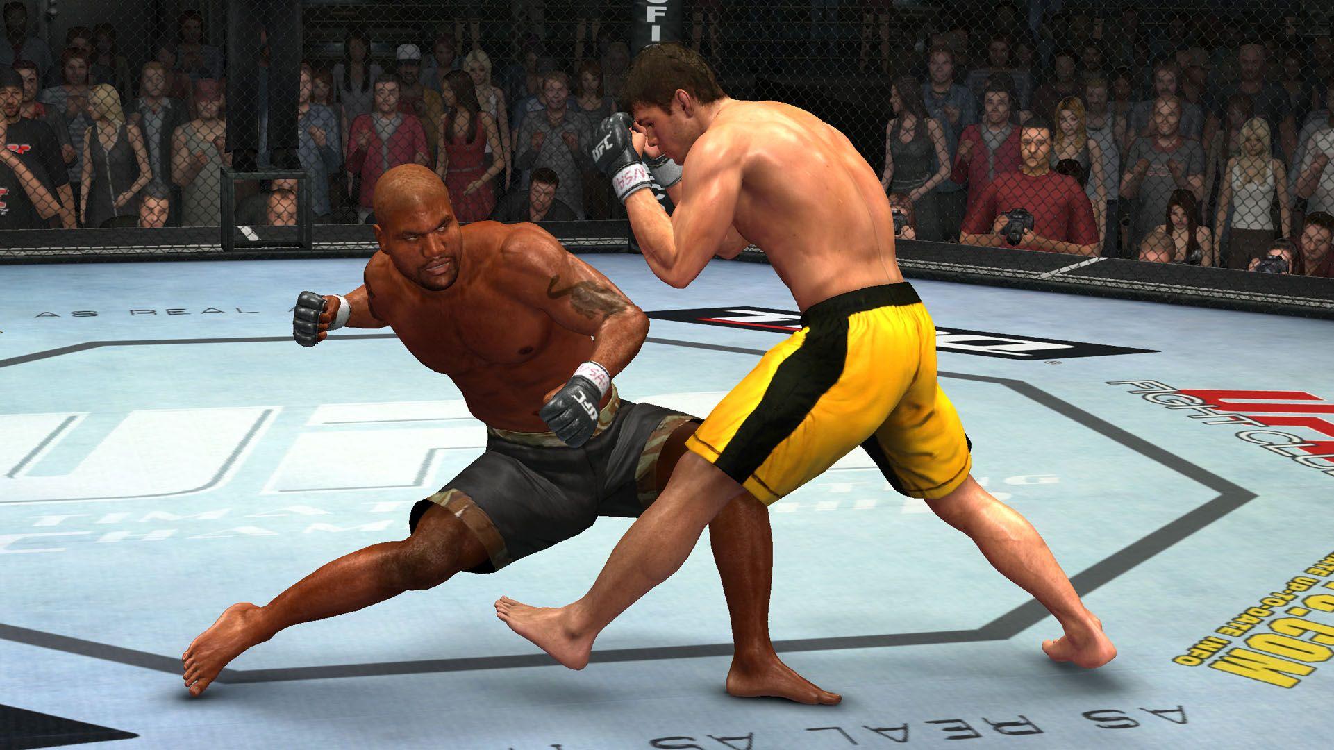 UFC 2009 Undisputed - Gameplay
