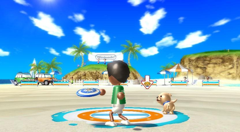 Wii Sports Resort - In spiaggia e in mare