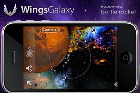 Wings Galaxy: Space Exploration - Screenshot