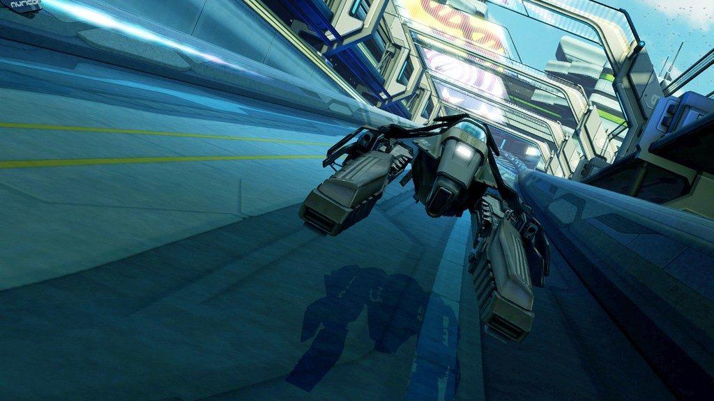 WipEout HD Fury - Screen