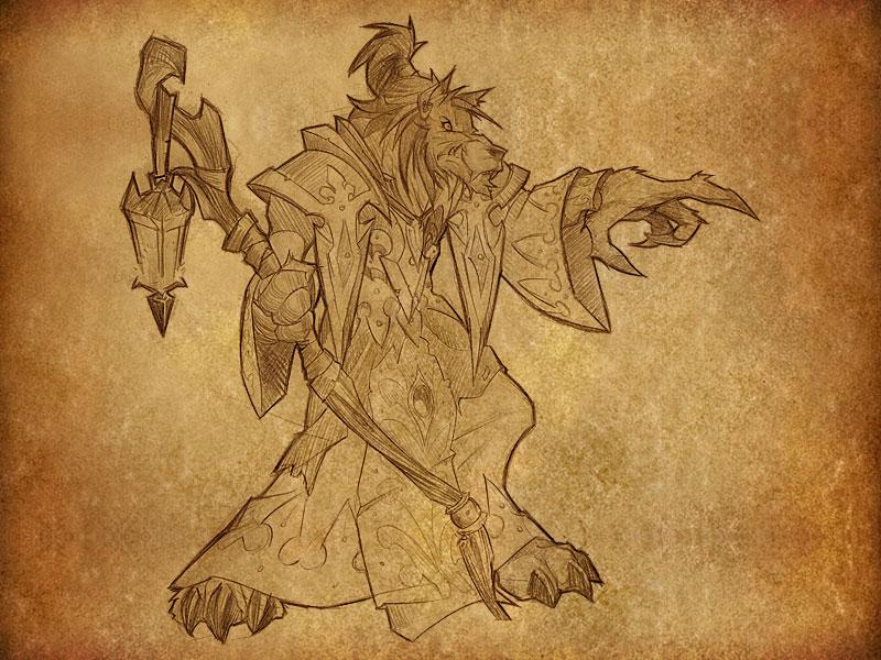 World of Warcraft: Cataclysm - Artwork su papiro