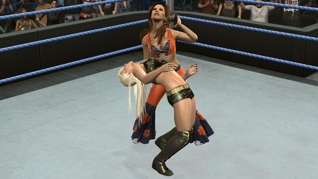 WWE SmackDown vs. Raw 2010 - Mickie vs Maryse