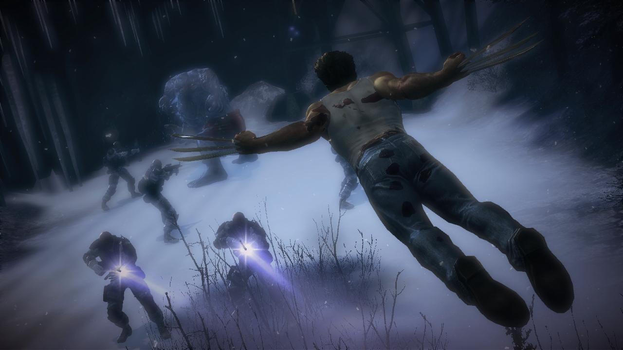 X-Men Origins: Wolverine - Gameplay