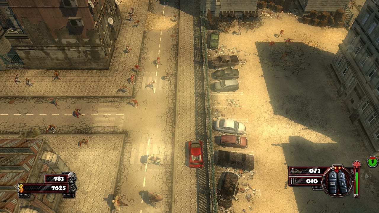 Zombie Driver - Screenshot