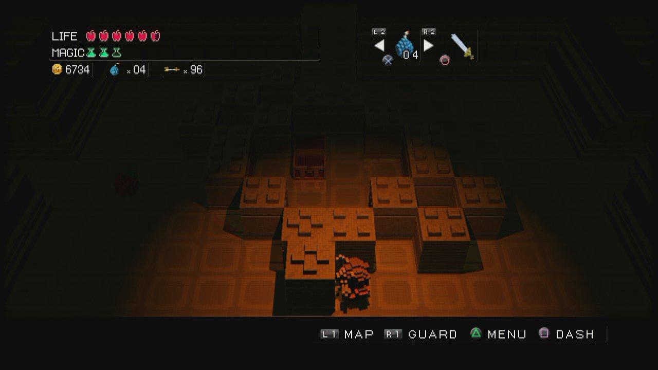 3D Dot Game Heroes - Mattone dopo mattone...