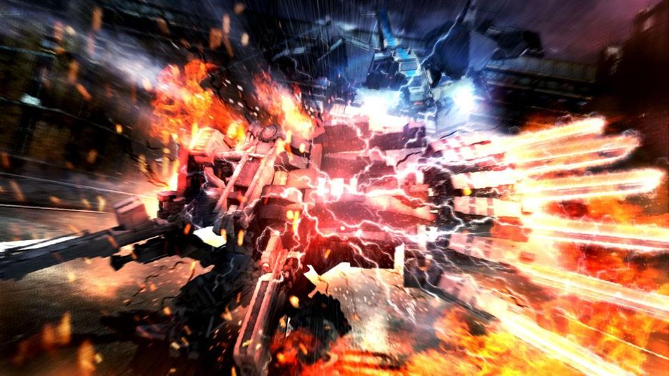 Armored Core 5 - Fuoco e Fiamme