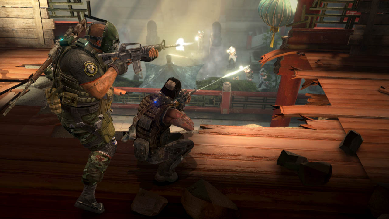 Army of Two: The 40th Day - Immagini dal DLC