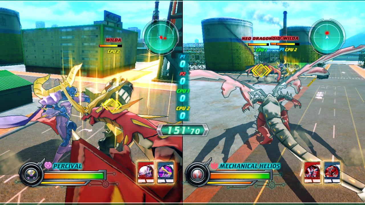 Bakugan: Defenders of the Core - Screenshots