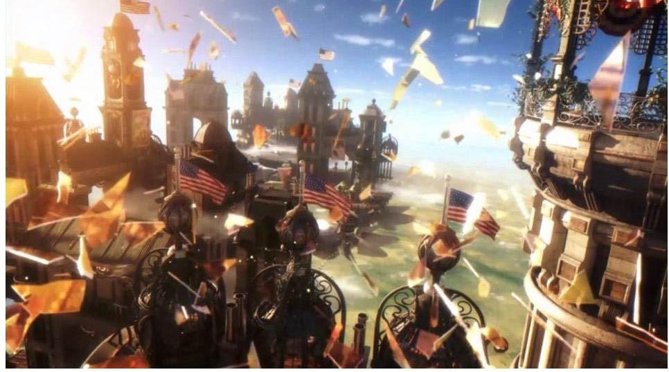Bioshock Infinite - Paesaggi